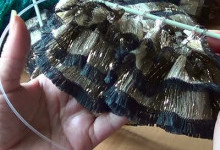 Вязание из ленточной пряжи Bolero Ice