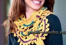 Ленточный шарф — пояс