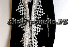 Ажурный шарф Соблазнительная сеть