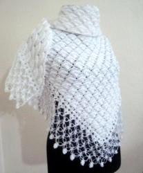 Красивый узор для шали