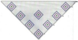 Шаль Diamond