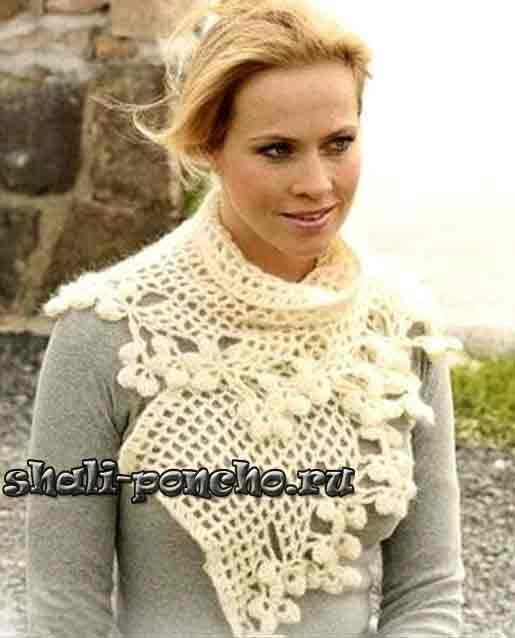 Интересная модель шарфика от