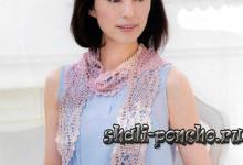 Ананасовый шарфик