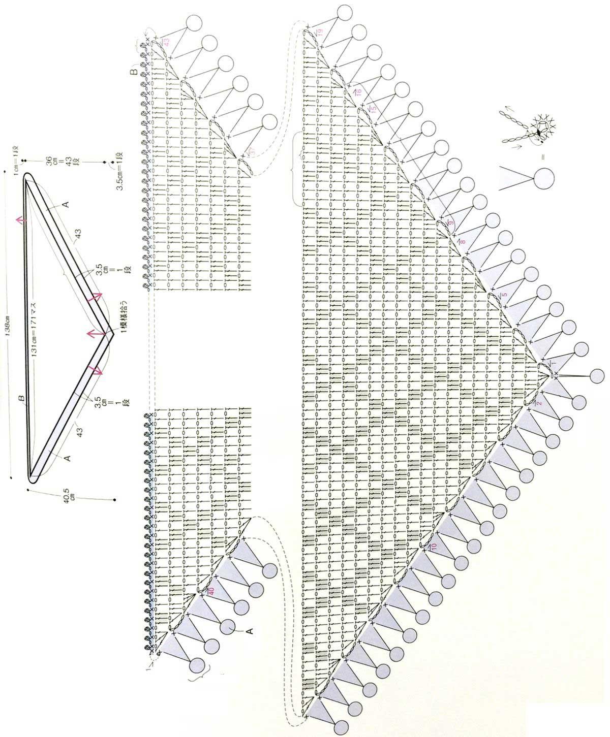 Бактус крючком схема фото