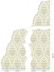 Ананасовый бактус от центра