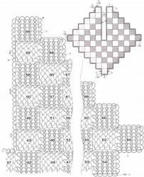 Накидка из квадратов