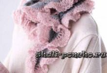 Волнистый шарфик